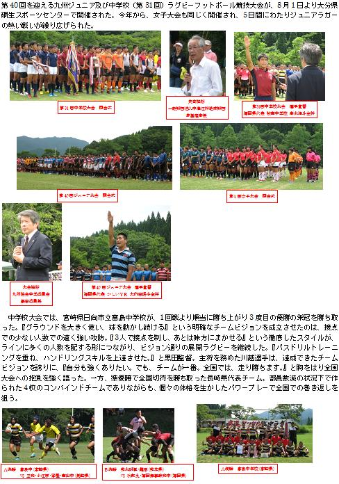 ラグビー 協会 九州